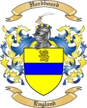 Hardboard Family Coat of Arms from England2