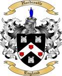 Hardcastle Family Coat of Arms from England