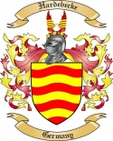 Hardebecke Family Crest from Germany