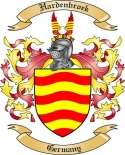 Hardenbroek Family Crest from Germany