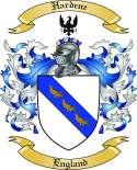 Hardene Family Crest from England