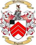 Hardiman Family Crest from England