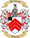 Hardyment Family Coat of Arms from England