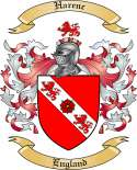 Harenc Family Coat of Arms from England