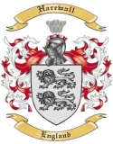 Harewall Family Coat of Arms from England