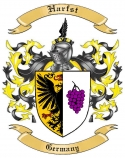 Harfst Family Crest from Germany