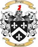 Hargis Family Crest from Scotland