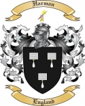 Harman Family Coat of Arms from England
