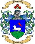 Harmann Family Crest from Germany