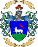 Harmes Family Crest from Germany