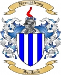Harmestrang Family Crest from Scotland