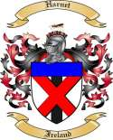Harnet Family Crest from Ireland2