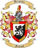 Harpster Family Crest from Ireland