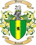 Harra Family Crest from Ireland