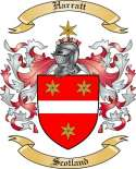 Harratt Family Coat of Arms from Scotland