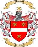 Harrell Family Coat of Arms from Scotland