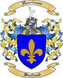 Harrieson Family Crest from Scotland