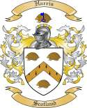 Harris Family Crest from Scotland