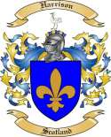 Harrison Family Crest from Scotland