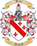 Harte Family Crest from Ireland