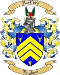 Hartford Family Crest from England