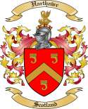 Harthawr Family Coat of Arms from Scotland