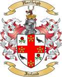 Hartleigh Family Coat of Arms from Ireland