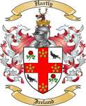 Hartly Family Crest from Ireland