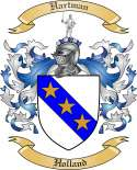 Hartman Family Coat of Arms from Holland