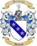 Hartmann Family Coat of Arms from Holland