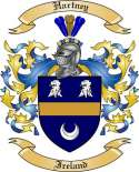 Hartney Family Coat of Arms from Ireland