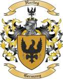 Hartog Family Crest from Germany2