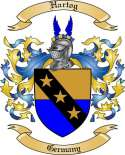Hartog Family Crest from Germany