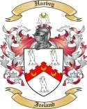 Harvey Family Crest from Ireland