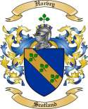 Harvey Family Crest from Scotland