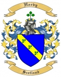 Harvy Family Coat of Arms from Scotland