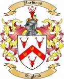 Harwood Family Coat of Arms from England
