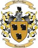 Hasfurther Family Crest from Germany