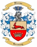 Hasse Family Coat of Arms from Germany
