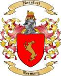 Hassfort Family Coat of Arms from Germany