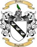 Haster Family Crest from England