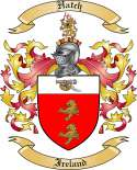Hatch Family Coat of Arms from England