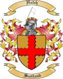 Hatch Family Coat of Arms from Scotland