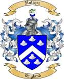 Hatcher Family Crest from England