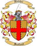 Hatcher Family Crest from Scotland