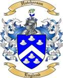 Hatcherson Family Coat of Arms from England