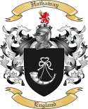 Hathaway Family Crest from England2