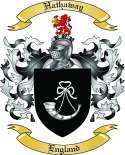 Hathaway Family Crest from England