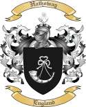 Hathoway Family Crest from England