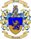 Hauck Family Crest from Germany